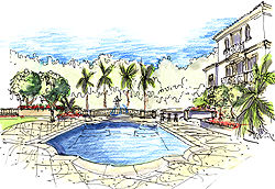 Landscape Architecture Perspective Drawings landscape architecture perspective drawings